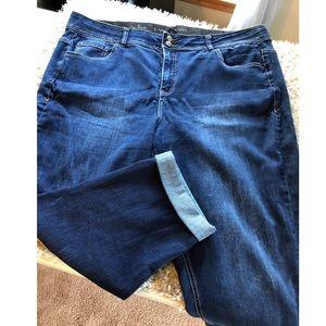 Lane Bryant Crop Jeans Size 26